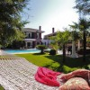 lotus peyzaj_garden_swimming pools_outdoor living_palm tree_planting_green_pergola