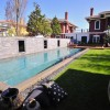 lotus peyzaj_landscape design_swimming pool_black pebble_stone paving wall_mirror_garden_pool design_outdoor living
